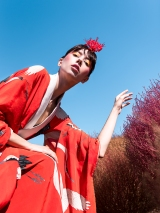 Model: Yulia Shumakova, Bravo Models, Tokyo. Make-up and Hair: Emily McKay. Photographer: Elena Tyutina. Japan, Tokyo, 2018. www.elenatyutina.com